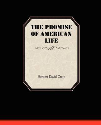 The Promise of American Life by Herbert David Croly image
