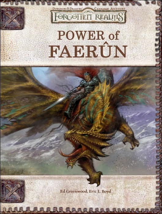 Forgotten Realms: Power of Faerun by Ed Greenwood