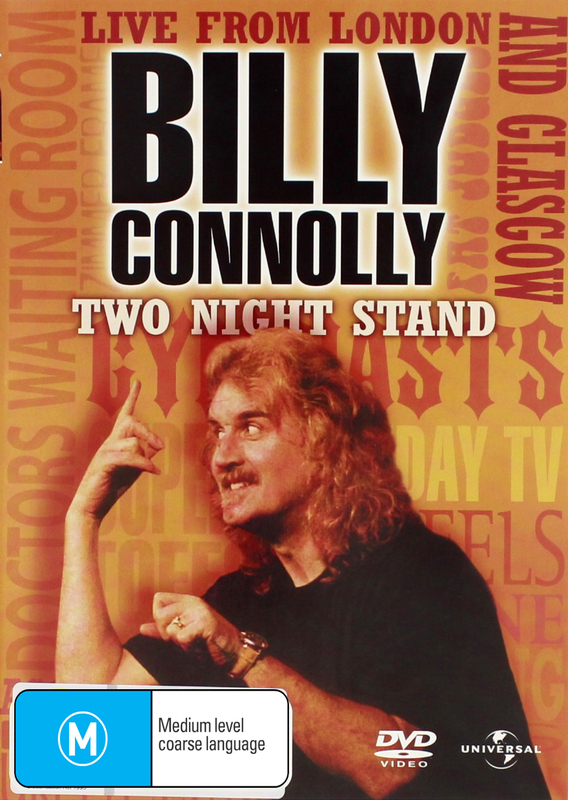 Billy Connolly - Two Night Stand: Live From London And Glasgow on DVD
