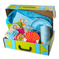 Magical Mermaid Party Suitcase