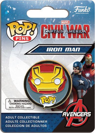Captain America: Civil War - Iron Man Pop! Pin