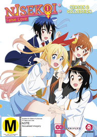 Nisekoi: False Love - Season 2 Collection on DVD