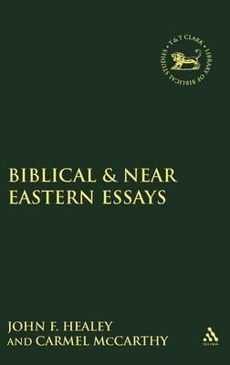 Biblical and Near Eastern Essays by Carmel McCarthy image
