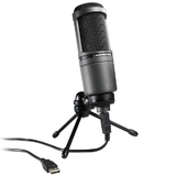 Audio-Technica AT2020 USB Condenser Cardoid Microphone for