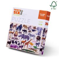 Crocodile Creek: Wild Animals Puzzle - 300pc