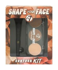 W7 Shape Your Face Contour Kit image