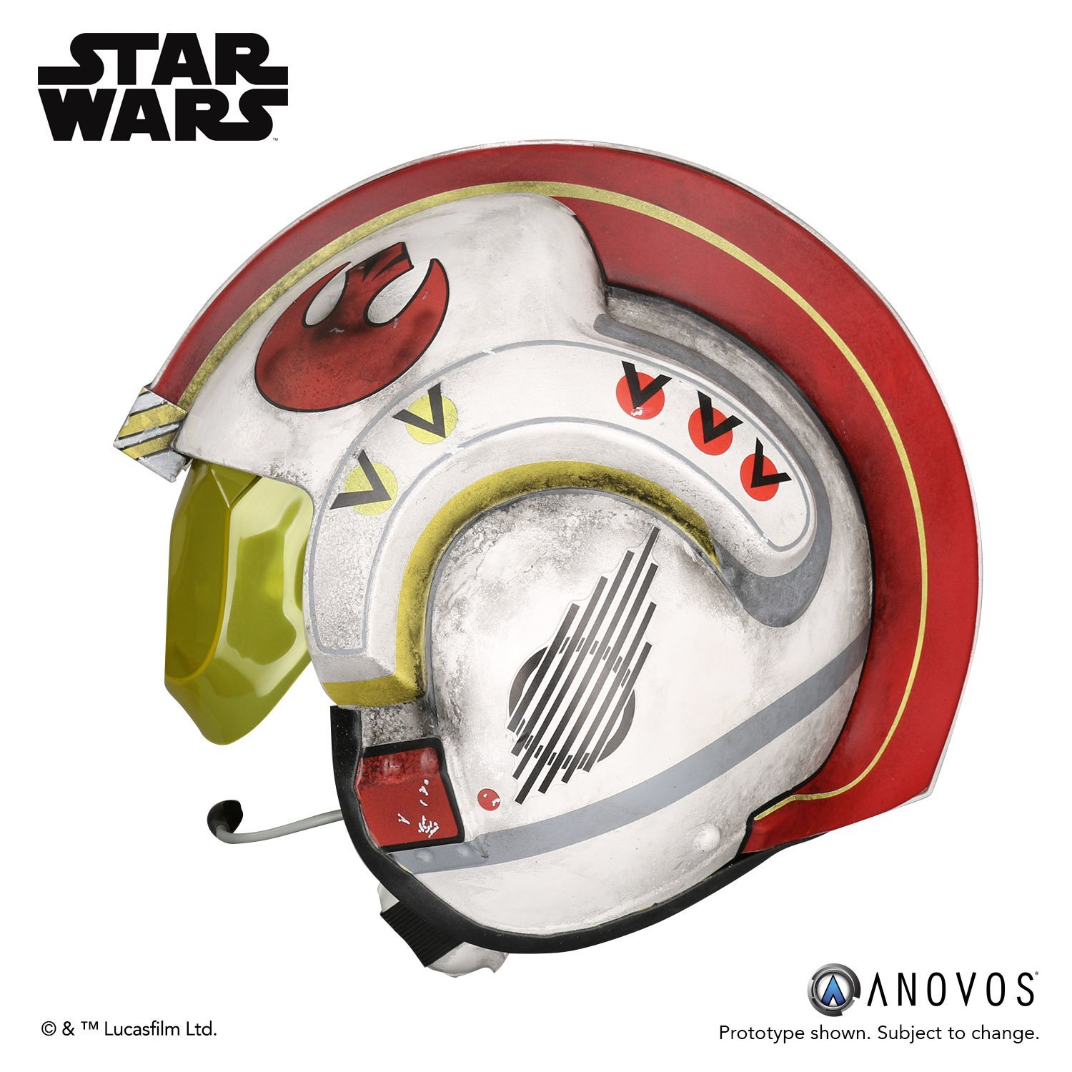 Star Wars: Luke Skywalker's Rebel Pilot Helmet - Prop Replica image