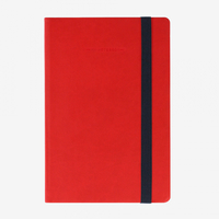 Legami: My Notebook - Medium Lined (Red)