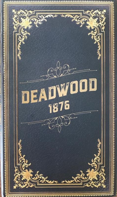 Deadwood 1876 - Board Game