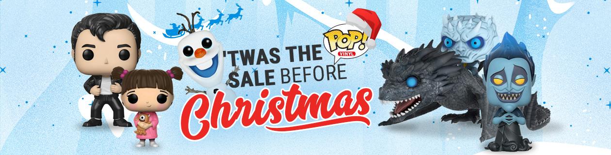 'Twas the Pop Sale before Christmas Sale