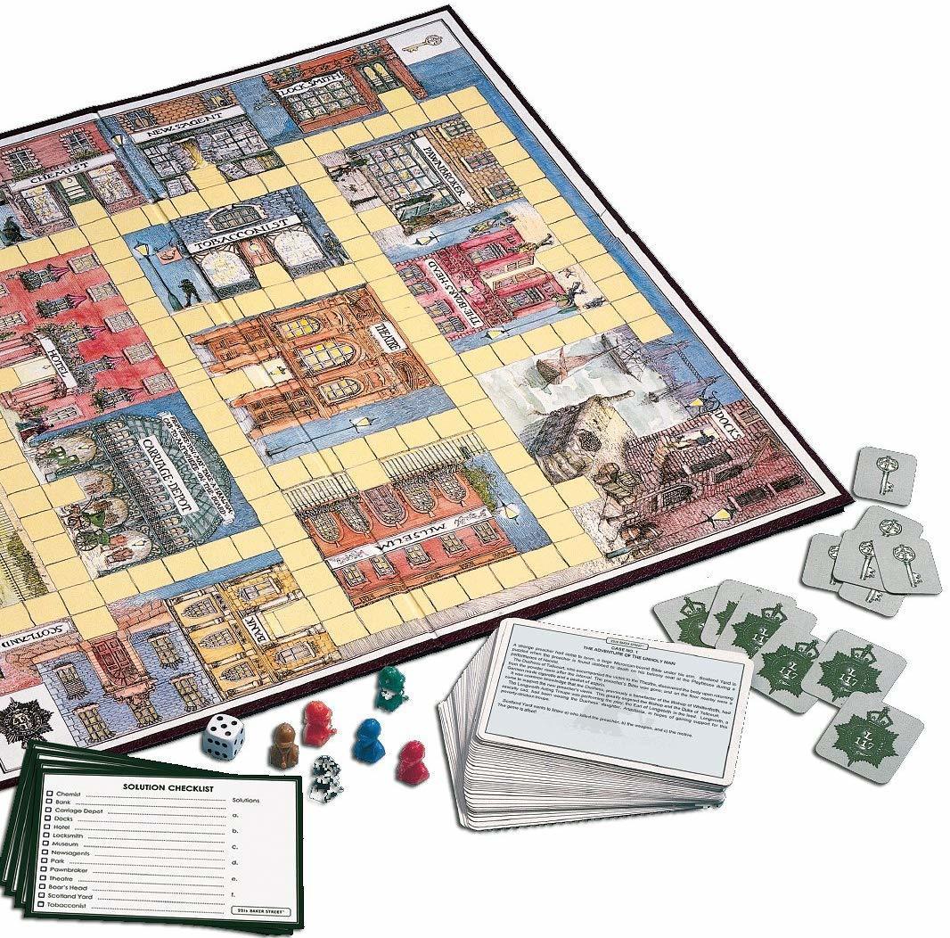 Holdson: 221b Baker Street Game image