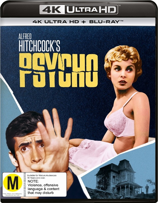 Psycho (4K UHD + Blu-Ray) on UHD Blu-ray