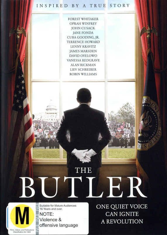 The Butler on DVD