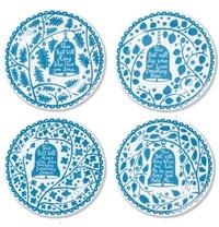 "Rob Ryan 8"" Dinner Plate Set - Bells image"