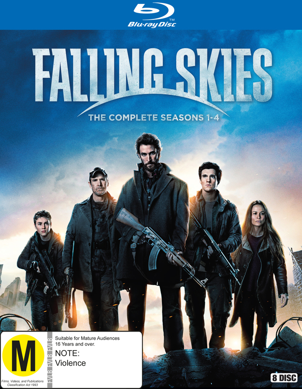 Falling Skies: The Complete First to Fourth Seasons on Blu-ray