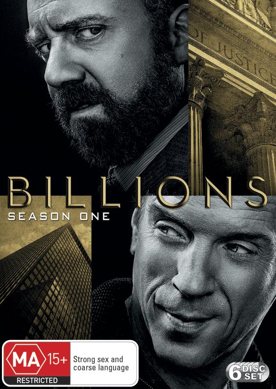 Billions: The First Season on DVD