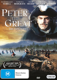Peter The Great - The Mini Series on DVD