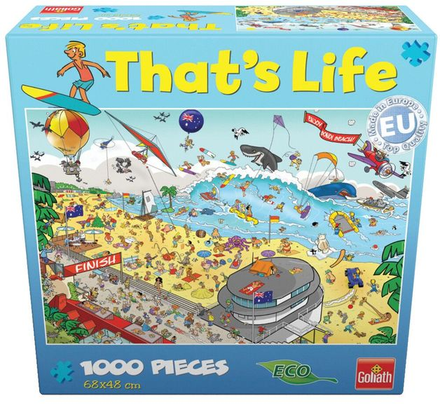 That's Life 1,000 Piece Jigsaw (Bondi Beach)