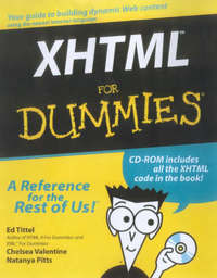 XHTML For Dummies by Ed Tittel