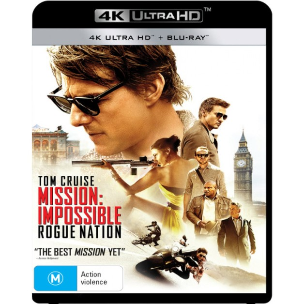Mission: Impossible 5 - Rogue Nation on UHD Blu-ray