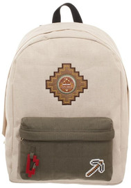 Minecraft Beige Backpack