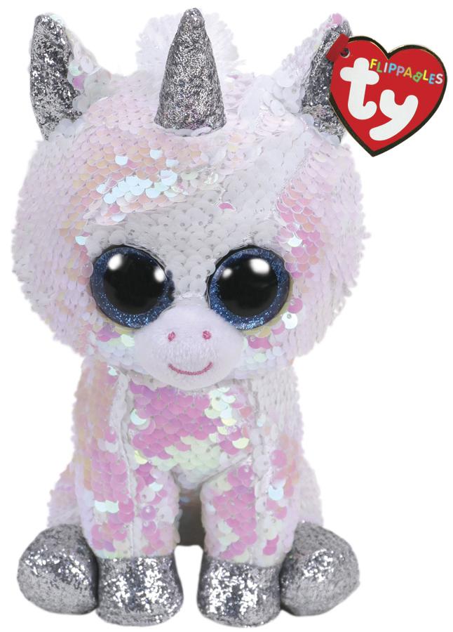 TY Beanie Boo: Flip Diamond Unicorn - Small Plush image