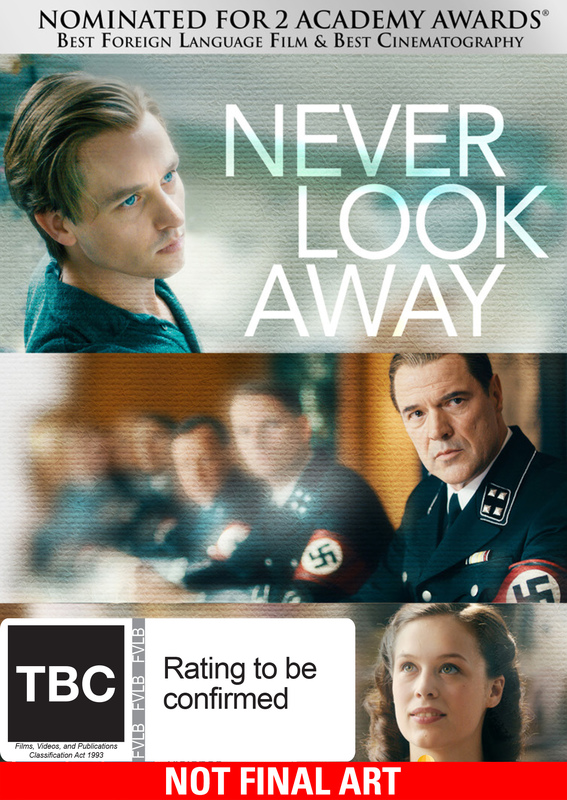 Never Look Away on DVD