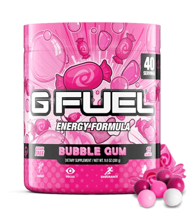 G FUEL Energy Formula - Bubble Gum (40 Servings)