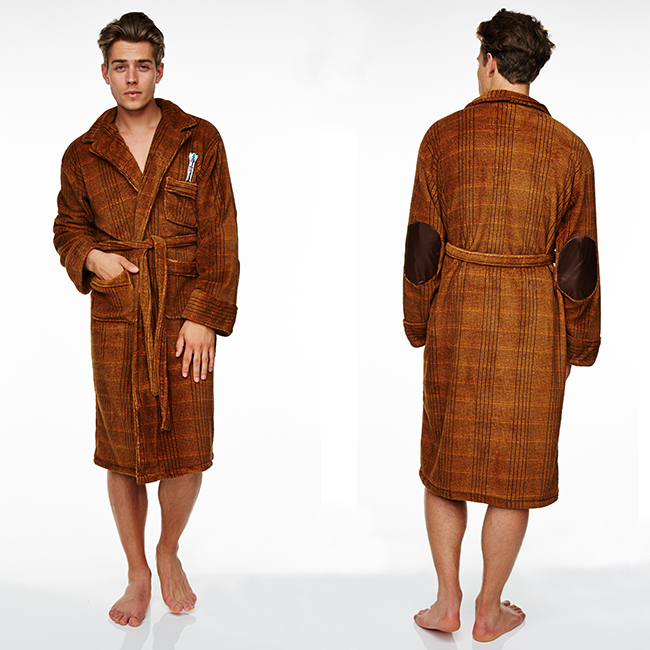 Doctor Who 11th Doctor Fleece Dressing Gown | Men\'s | at Mighty Ape NZ