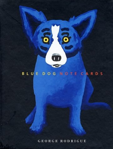 Blue Dog Note Cards (15 Cards Boxed)