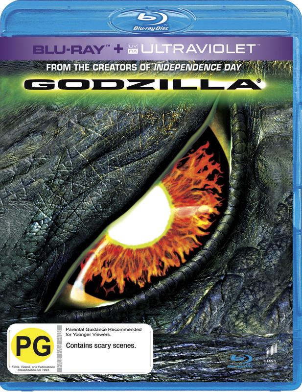 Godzilla on Blu-ray, UV