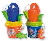 Androni: Transparent Crazy Fish - Medium Bucket Set