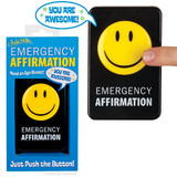 Emergency Affirmation Button - Office Toy