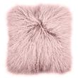Bambury Mongolian Lambs Wool Cushion (Blush)