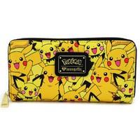 Loungefly: Pokemon Pikachu & Pichu - Zip Around Wallet