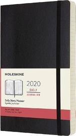 Moleskine: 2020 Diary Large Soft Cover 12 Month Daily - Black image