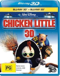 Chicken Little 3D on Blu-ray, 3D Blu-ray image