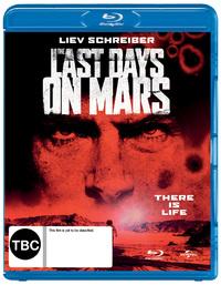 The Last Days on Mars on Blu-ray