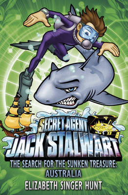 Jack Stalwart: The Search for the Sunken Treasure by Elizabeth Singer Hunt image
