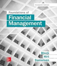 Foundations of Financial Management by Geoffrey Hirt