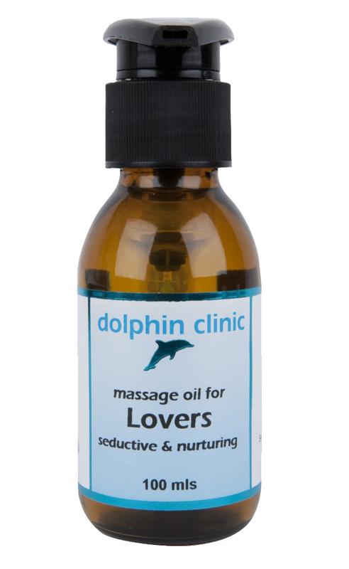Dolphin Clinic Luxury Massage Oil - Lovers (100ml)