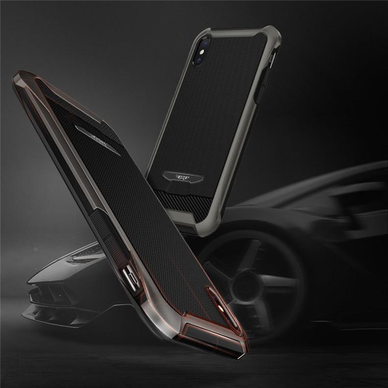 brand new 574cf 322df Spigen iPhone X Reventon Case Gunmetal