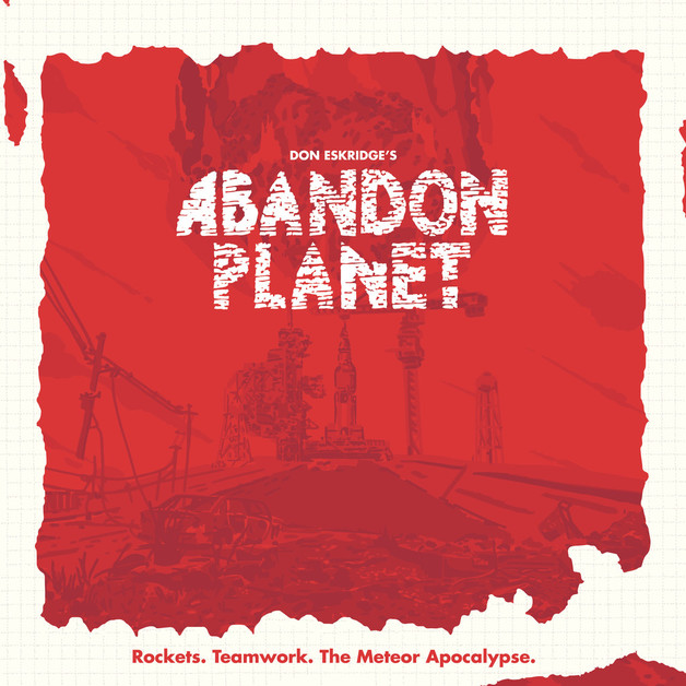 Abandon Planet - Board Game
