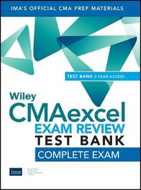 Wiley CMAexcel Learning System Exam Review 2020 Test Bank by IMA