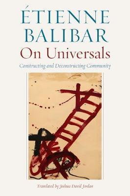 On Universals by Etienne Balibar