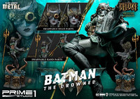 "Dark Knights: Metal - The Drowned (Deluxe) - 35"" Premium Statue"