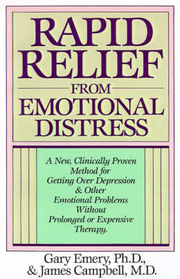 Rapid Relief from Emotional Distress by G. Emery image