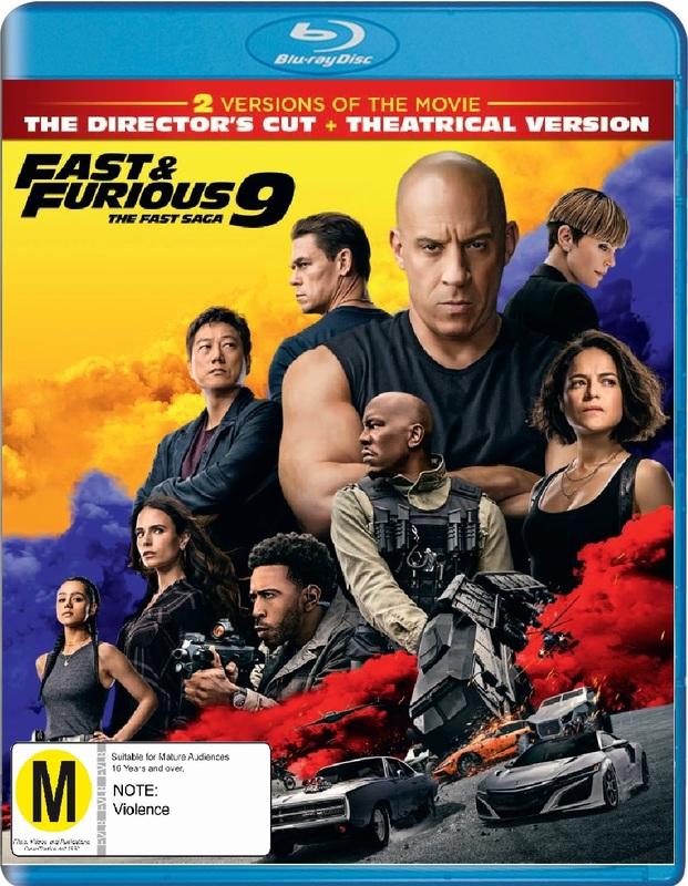 Fast & Furious 9 on Blu-ray