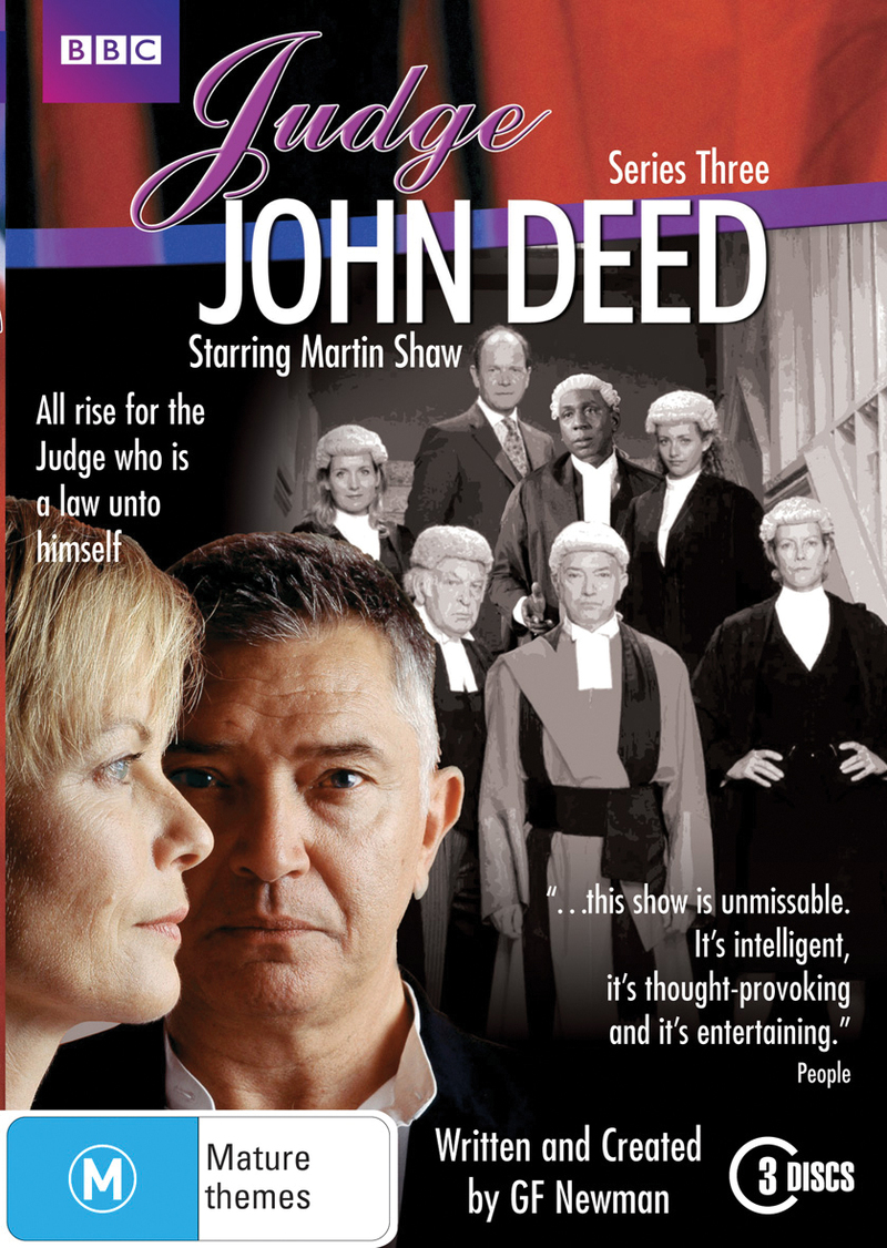 Judge John Deed - Series 3 (3 Disc Set) on DVD image