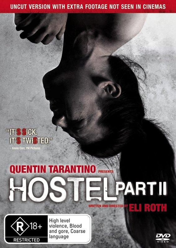 Hostel - Part II on DVD